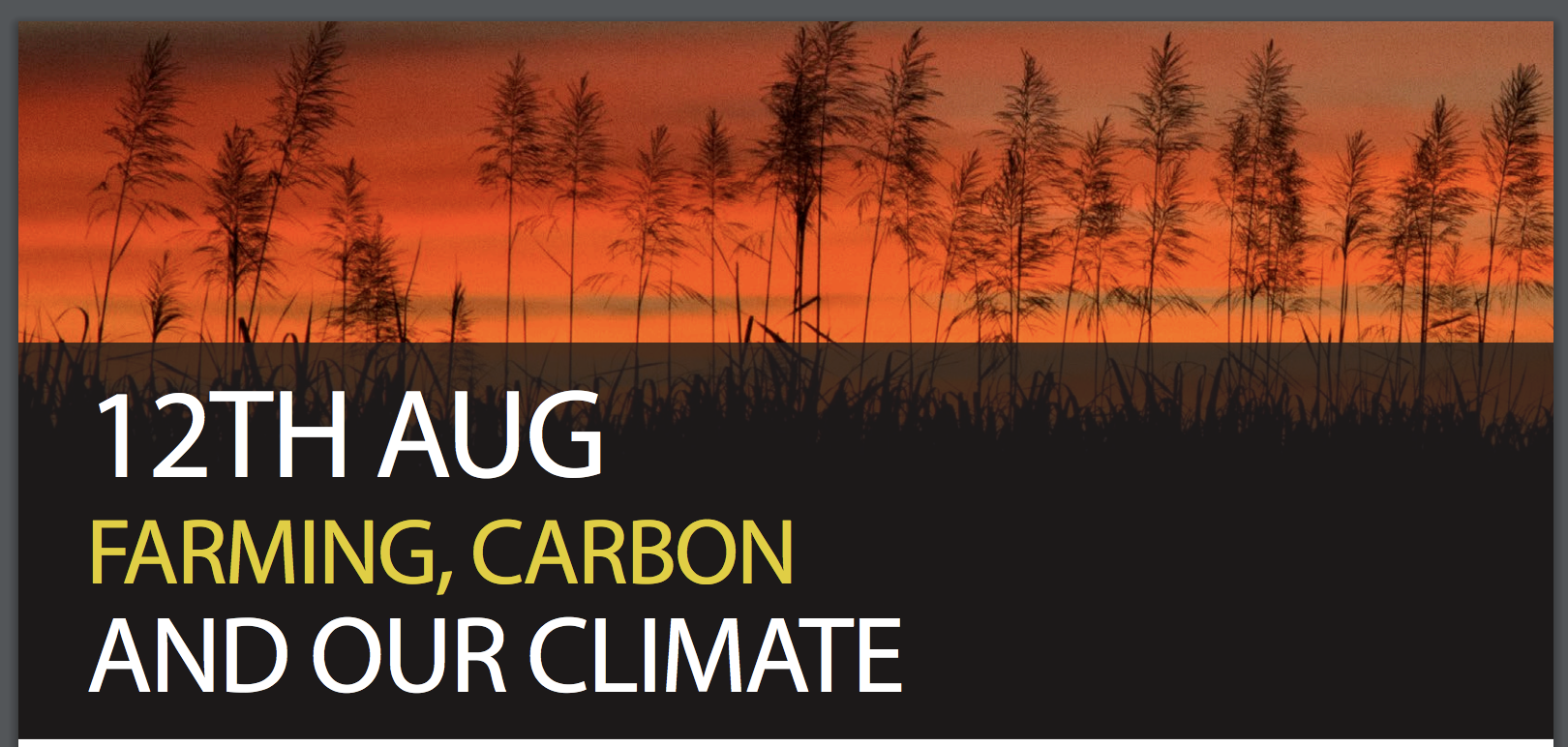 farming carbon and our climate